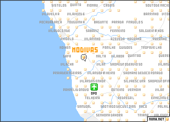map of Modivas
