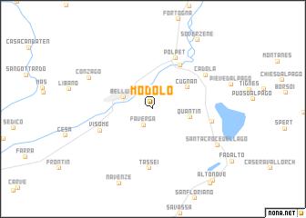map of Modolo