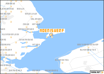 map of Moeniswerf