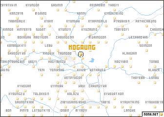 map of Mogaung