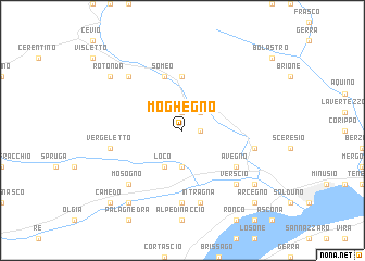 map of Moghegno