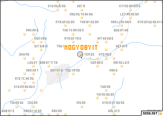 map of Mogyo-byit