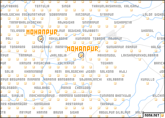map of Mohanpur