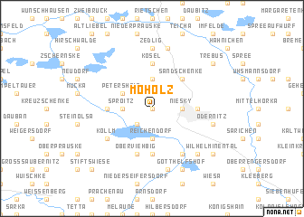 map of Moholz