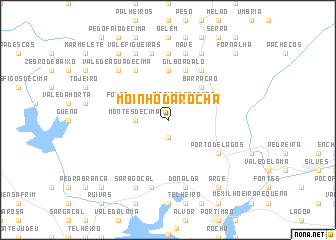 map of Moinho da Rocha