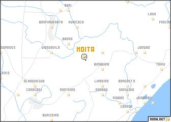 map of Moita