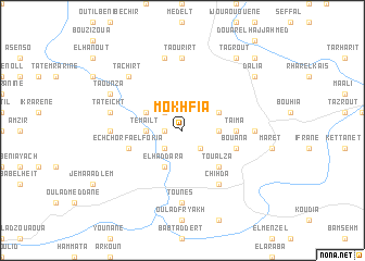 map of Mokhfia