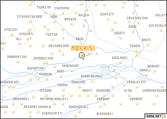 map of Mokhisi