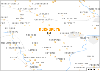 map of Mokhovoye