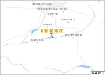 map of Mokhovoye