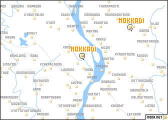 map of Mokkadi