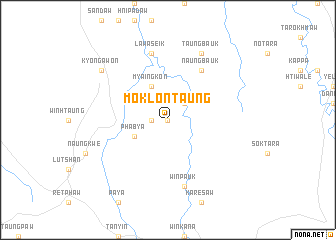 map of Moklontaung