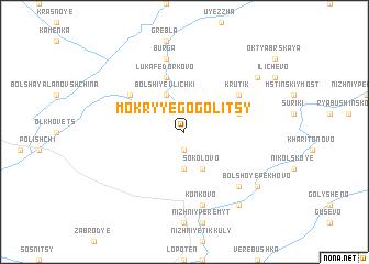 map of Mokryye Gogolitsy
