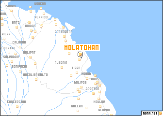 map of Molatohan