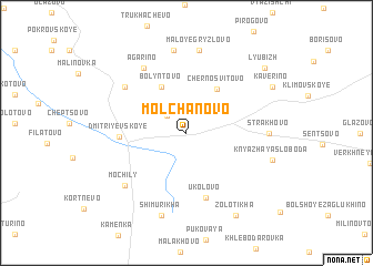 map of Molchanovo