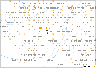 map of Molfritz