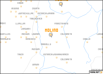 map of Molino