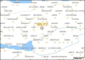 map of Molitz