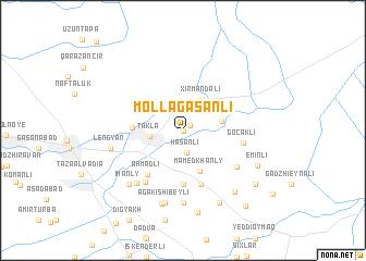 map of Mollagasanli
