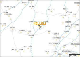 map of Mollalı