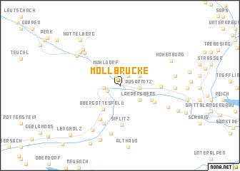 map of Möllbrücke