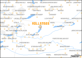 map of Möllensee