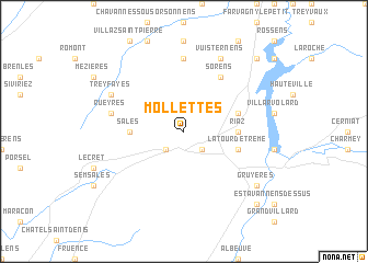 map of Mollettes