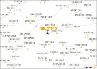 map of Molotino