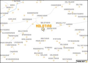 map of Molotino