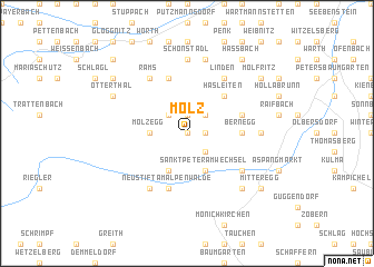map of Molz
