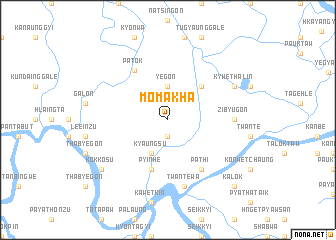 map of Momakha