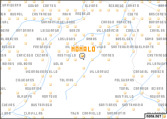 map of Momalo