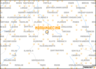 map of Mondim de Cima