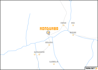 map of Mondumba