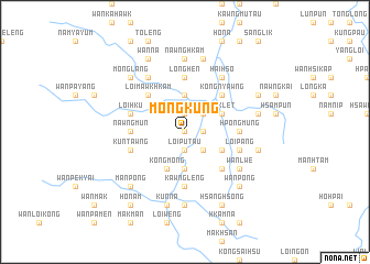 map of Möng Küng