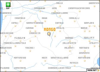 map of Mongo