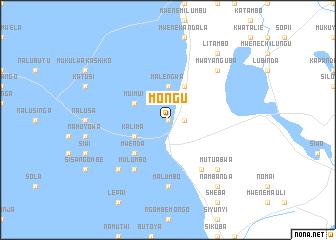 Mongu Zambia Map Nonanet - Where is zambia