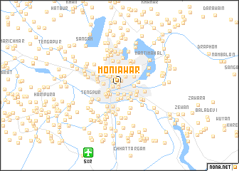 map of Moniawār