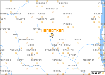 map of Monnatkon