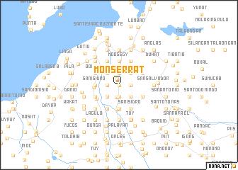 map of Monserrat
