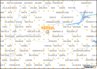 map of Monsul