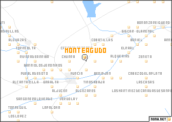 map of Monteagudo