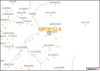 map of Montecillo