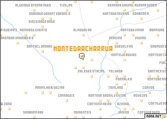 map of Monte da Acharrua