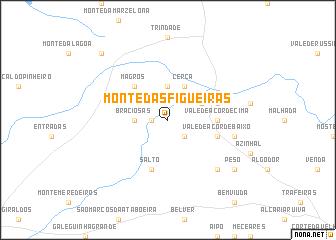 map of Monte das Figueiras