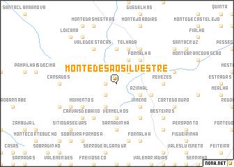 map of Monte de São Silvestre