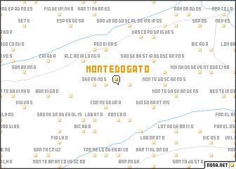 map of Monte do Gato