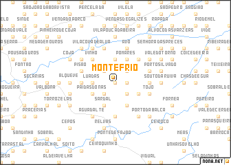 map of Monte Frio