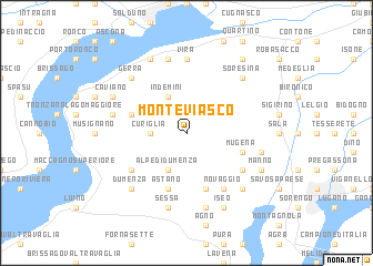 map of Monteviasco