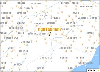 Montgomery Pakistan map nonanet
